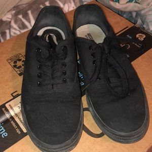 All Black Everyday Sneakers